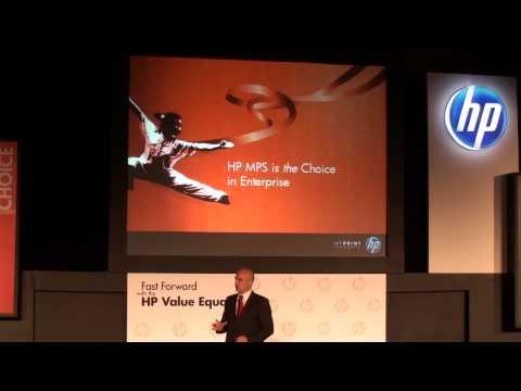 2010 HP Value Equation Day 2 : 1st Keynote