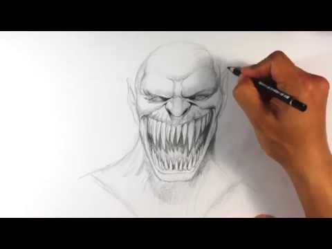 How to Draw Baraka from Mortal Kombat - Easy Things to Draw