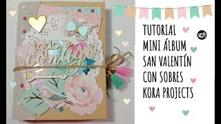 TUTORIAL mini álbum con sobres KORA PROJECTS