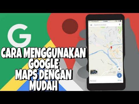 Cara Menggunakan Google Maps Di Android Dengan Benar Sangat Bermanfaat Untuk Mengetahui Rute Jalan Youtube