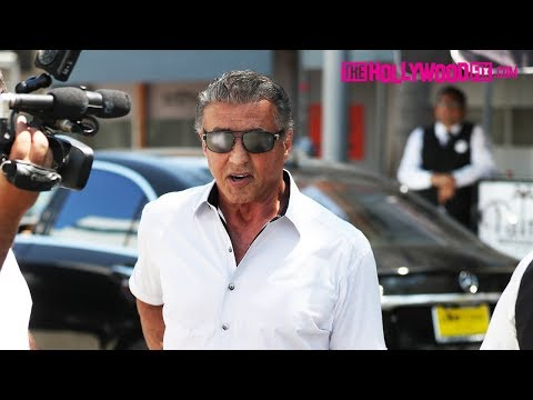 Sylvester Stallone Says He