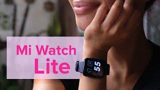 Xiaomi Mi Watch Lite unboxing: BETTER THAN THE MI BAND 5?