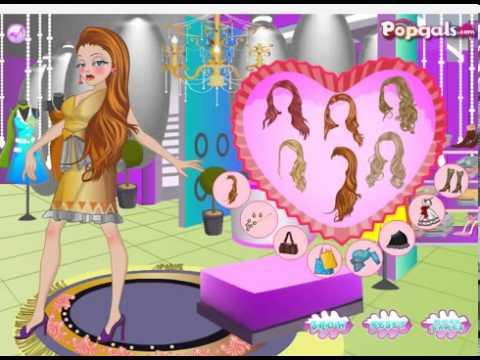 Permainan Berpakaian Barbie dan Permainan Penata Rambut Barbie di Salon 011494676a