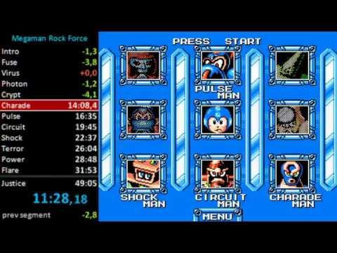 PC Mega Man Rock Force in 46:48 - PB