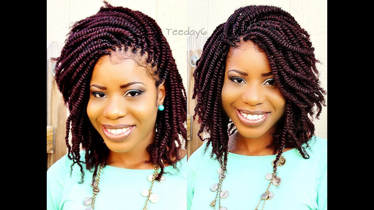 Crochet Corkscrew Hairstyles : Crochet Braids? Shhhh...Dont Tell Nobody Else ;) TEEDAY6 - YouTube