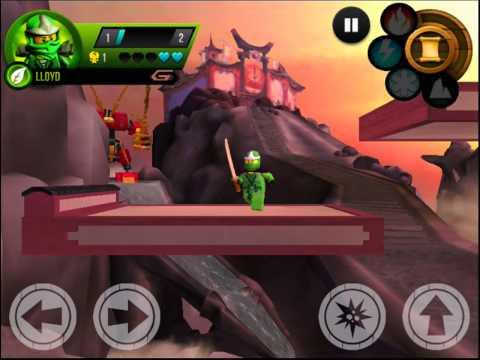 LEGO Ninjago App - Kostenloses Ninjago Spiel