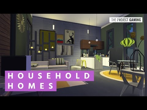 An Offshore Studio Home for the Saunders | The Sims 4 - Household Homes