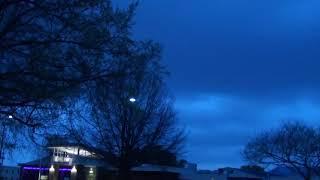 Tornado Warning Broken Arrow, Oklahoma April 9, 2021