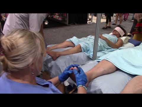 Foot Massage/Reflexology at the EX