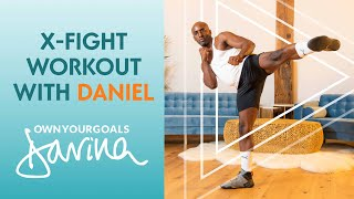 X-Fight Workout With Daniel #OwnYourGoals | Davina McCall