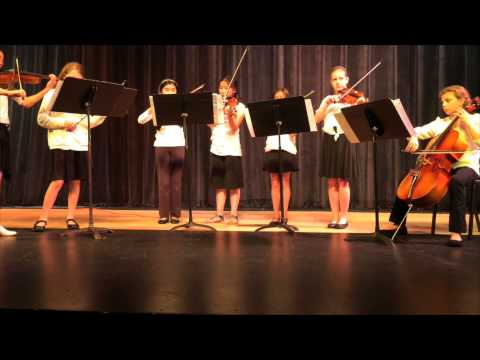 Blueberry Hill Elementary School Spring Concert Chamber Ensemble 2015