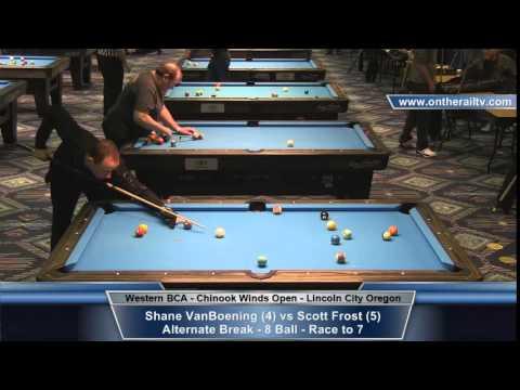 Scott Frost vs Shane VanBoening - Chinook Winds Open 8 Ball