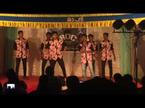 VADAKKANS roc day dance performance| MGGAC mahe