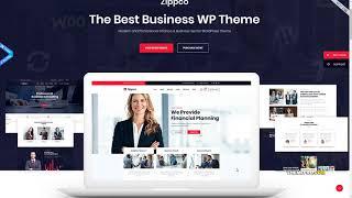 Zippco - Business and Finance Consulting WordPress Theme  Montana Aus