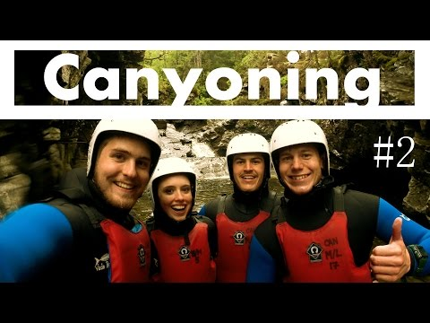 CANYONING in Schottland!!! Expedition Tag 1 || Schottland Vlog #2