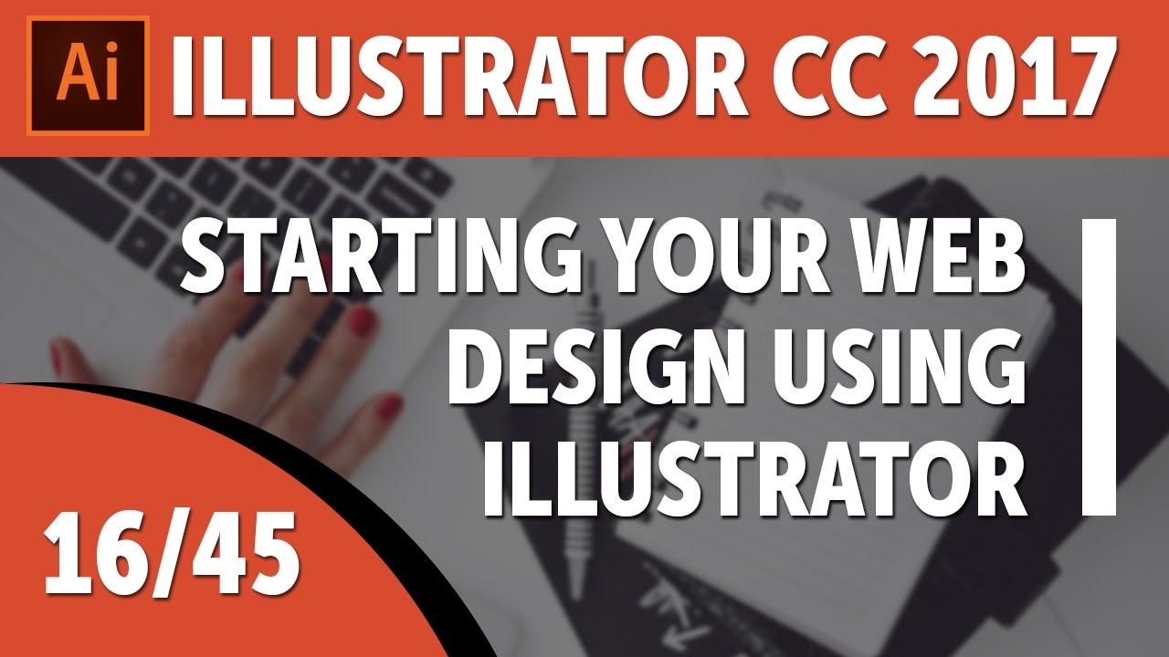 Starting your web design using Illustrator templates – Adobe Illustrator CC 2017 [16/45]