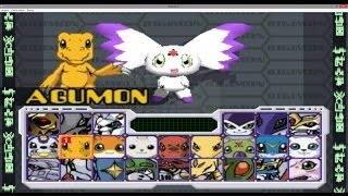 Digimon rumble arena ps1 todos los personajes + save game