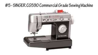 Top 5 Best Heavy Duty Sewing Machines