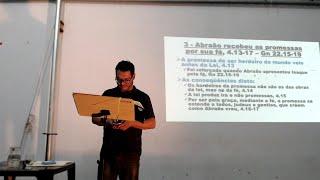 Estudo de Romanos 05/06/2018 - 5ª Aula - Cap. 4 - Pr. Mário Jr.