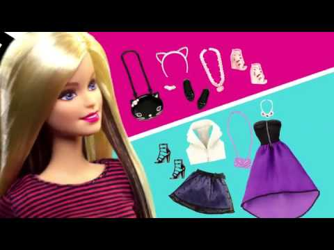 Bup be Barbie thoi trang dao pho 6