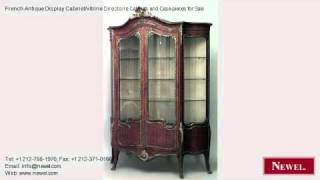 French Antique Display Cabinet/vitrine Directoire Cabinets