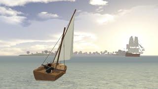 ROBLOX: tradelands how to build a ship