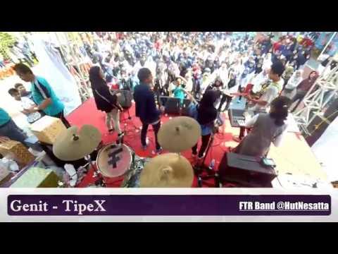 Genit - TipeX (Drum Cam) || FTR Band @hutnesatta