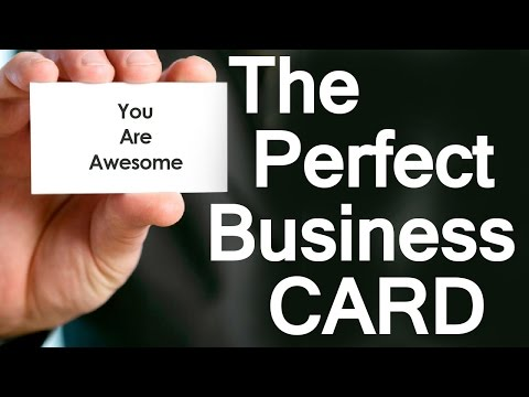 5 Tips to Create the Perfect Business Card | How To Design Professional Business Cards