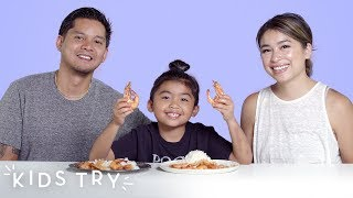Chef Mom vs. Chef Dad Challenge | Kids Try | HiHo Kids