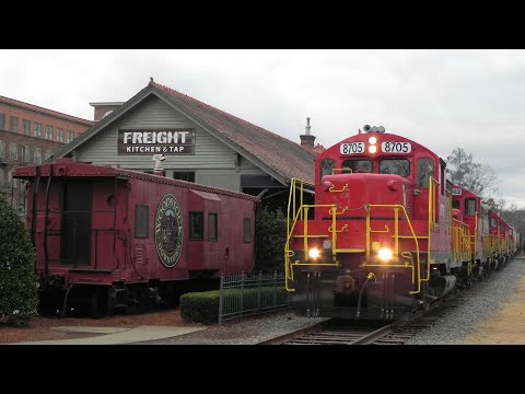 Chasing the Georgia Northeastern Railroad from Elizabeth to Canton January 16th 2017 © ICE6365