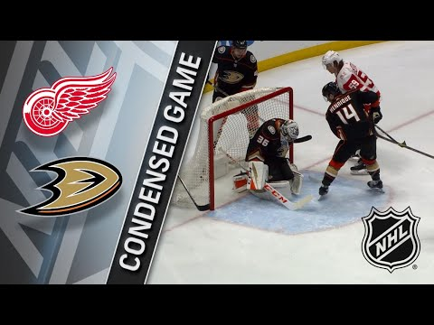 03/16/18 Condensed Game: Red Wings @ Ducks