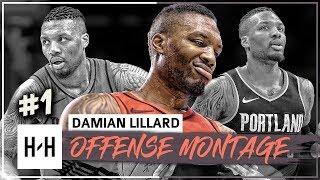 Damian Lillard MVP Montage, Full Offense Highlights 2017-2018 (Part 1) - Clutch Shots, DAME TIME!