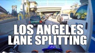 Motorcycle Lane Splitting In Los Angeles, CA