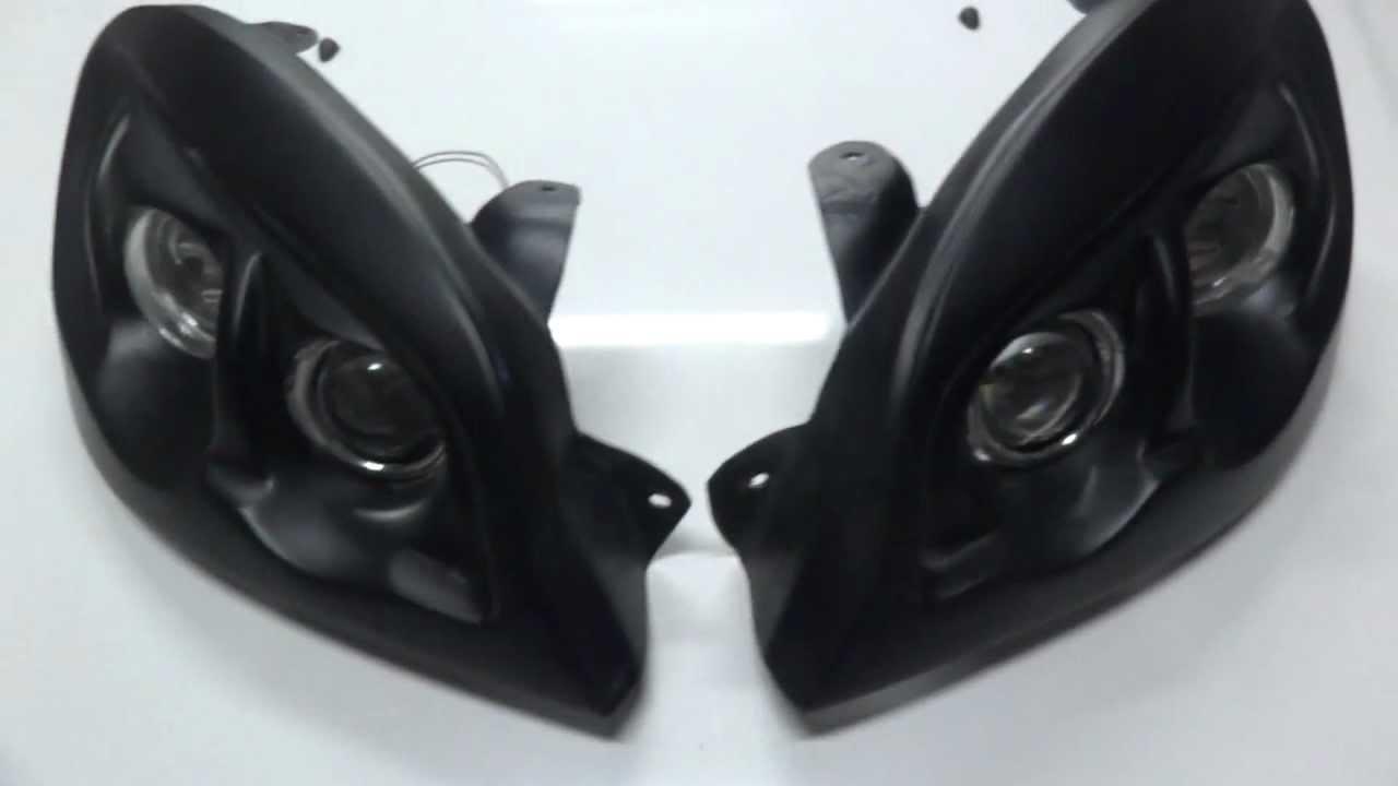 Задние фонари Ланос Т100 в BMW стиль - YouTube