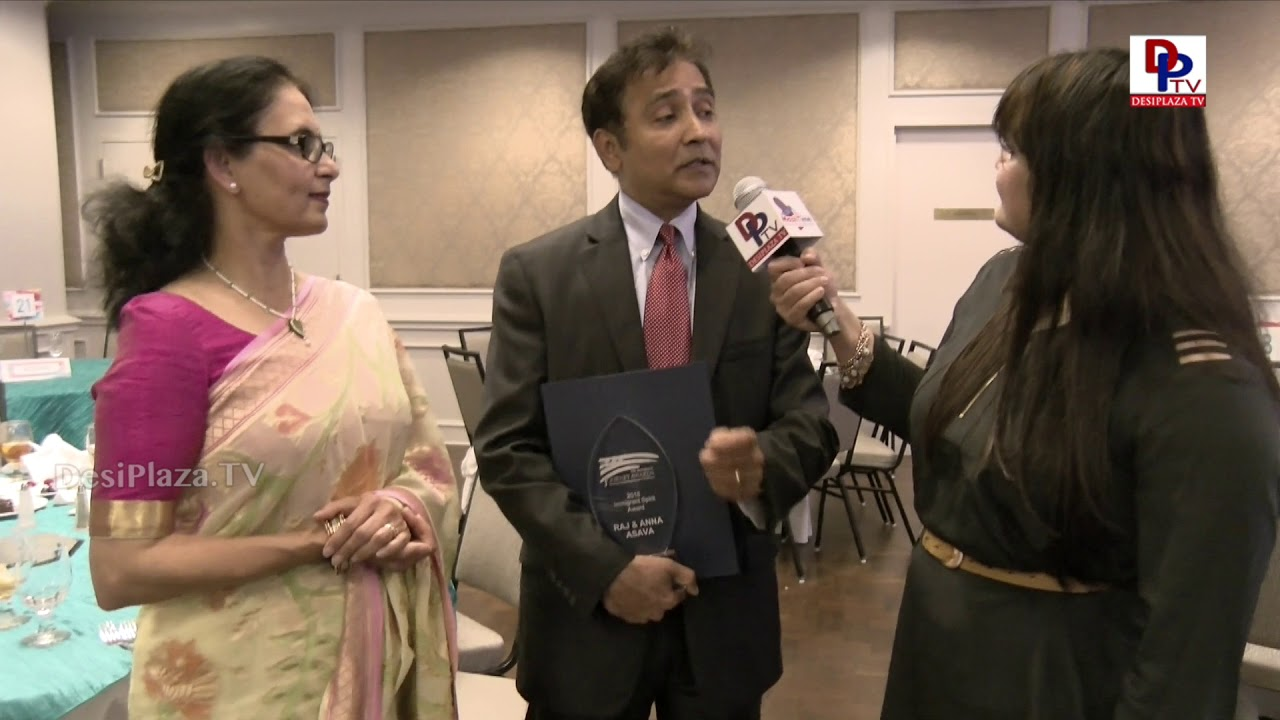 Raj Asava and Aradhana from NTFB speaks to DesiplazaTV at Immigrants Journey Awards | #IJAwards2018