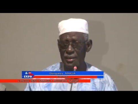 L' Association Nigérienne des Ciné-clubs et Critiques du Cinéma  rend Hommage à Moustapha Alassane