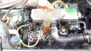 Moteur diesel Nettoyage direct  rapide des systèmes injection - كيفية التنظيف المباشر والسريع للبخاخ