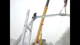 монтаж металлоконструкции болтовое соединения(, 2014-04-14T12:03:25.000Z)