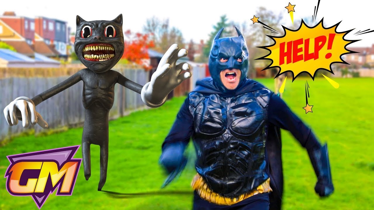 Cartoon Cat Vs Batman!