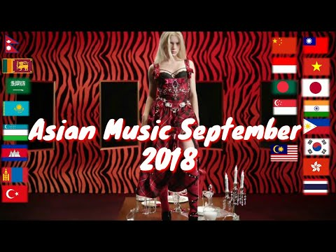 Asian Music in September 2018 | 9/2018 | 21 countries
