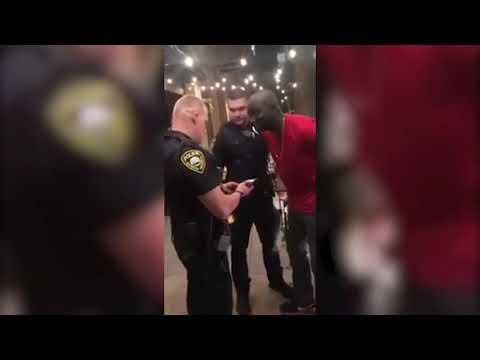 Dumb Racist Cops Arrest South Sudanese Man Not knowing He's a FBI agent