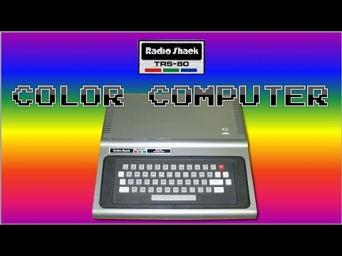 An intro to the CoCo - The Radio Shack TRS-80 Color Computer