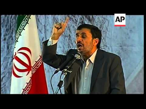 Iran - President Calls For The Obliteration Of Israel And USA