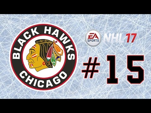 NHL 17 ~ Chicago Blackhawks GM Mode Commentary ~ #15 (Oops...)