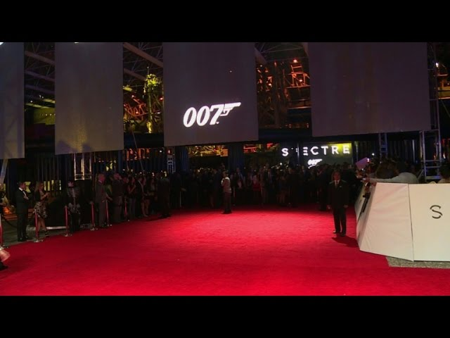James Bond shines on Mexican Day of the Dead