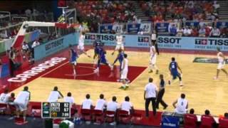 Lithuania Vs. Dominican Republic / 2012 FIBA Olympic Qualifying Tournament: Semi-Final