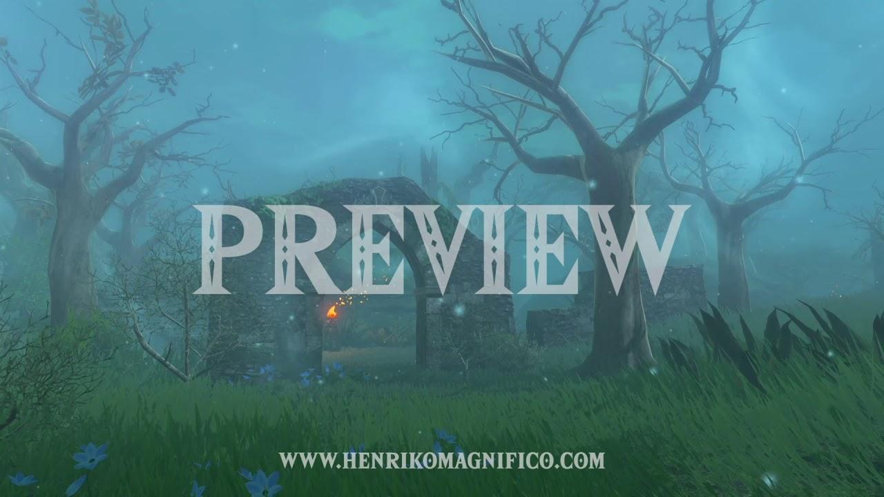 Zelda Breath of the Wild (Lost Woods) - 1080p 60FPS Looping Background