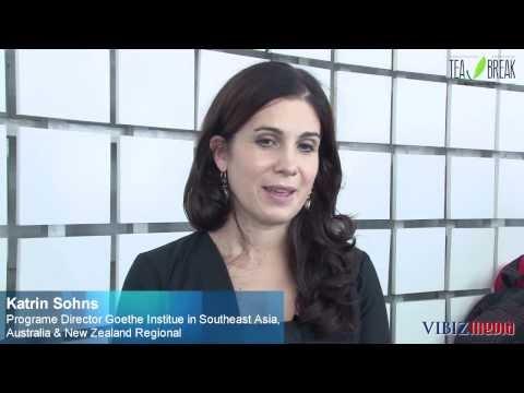 Hard Working, Katrin Sohns, Programe Director Goethe Institute in Southeast Asia