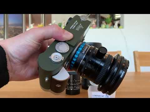 Leica M, M10, M10-P With A 2nd-hand Old-School Nikon Shift Lens On Novoflex Adapter