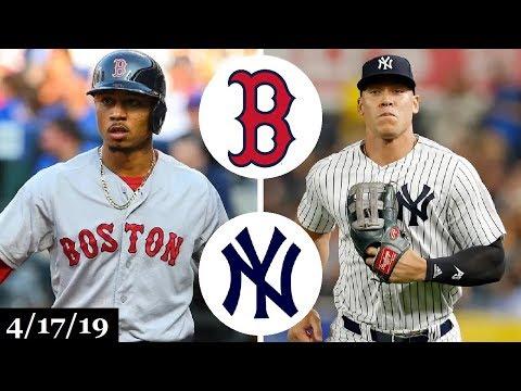 Boston Red Sox vs New York Yankees Highlights | April 17, 2019